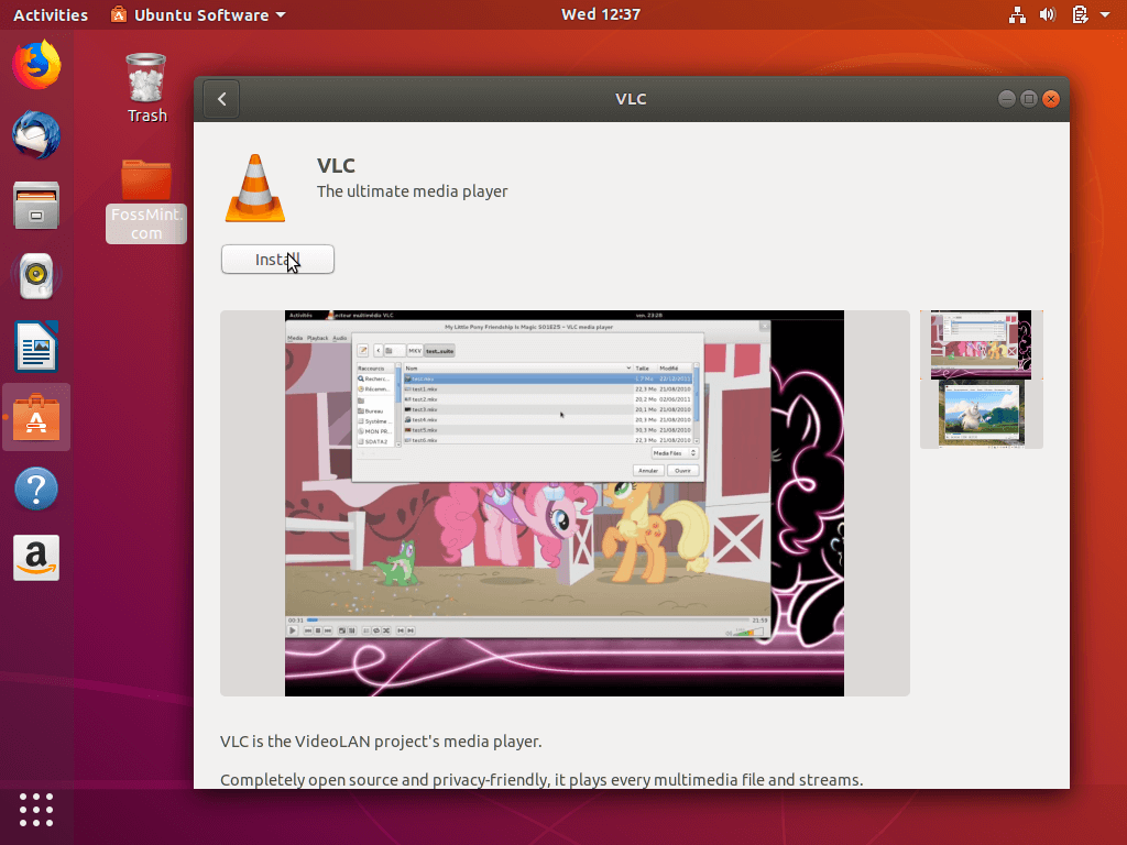 Install Apps from Ubuntu Software