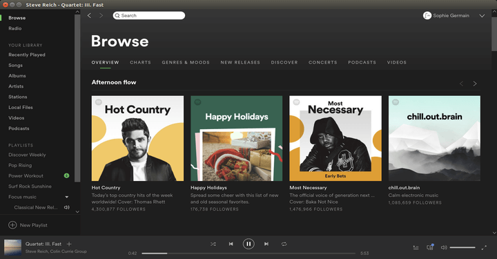 Install Spotify in Linux