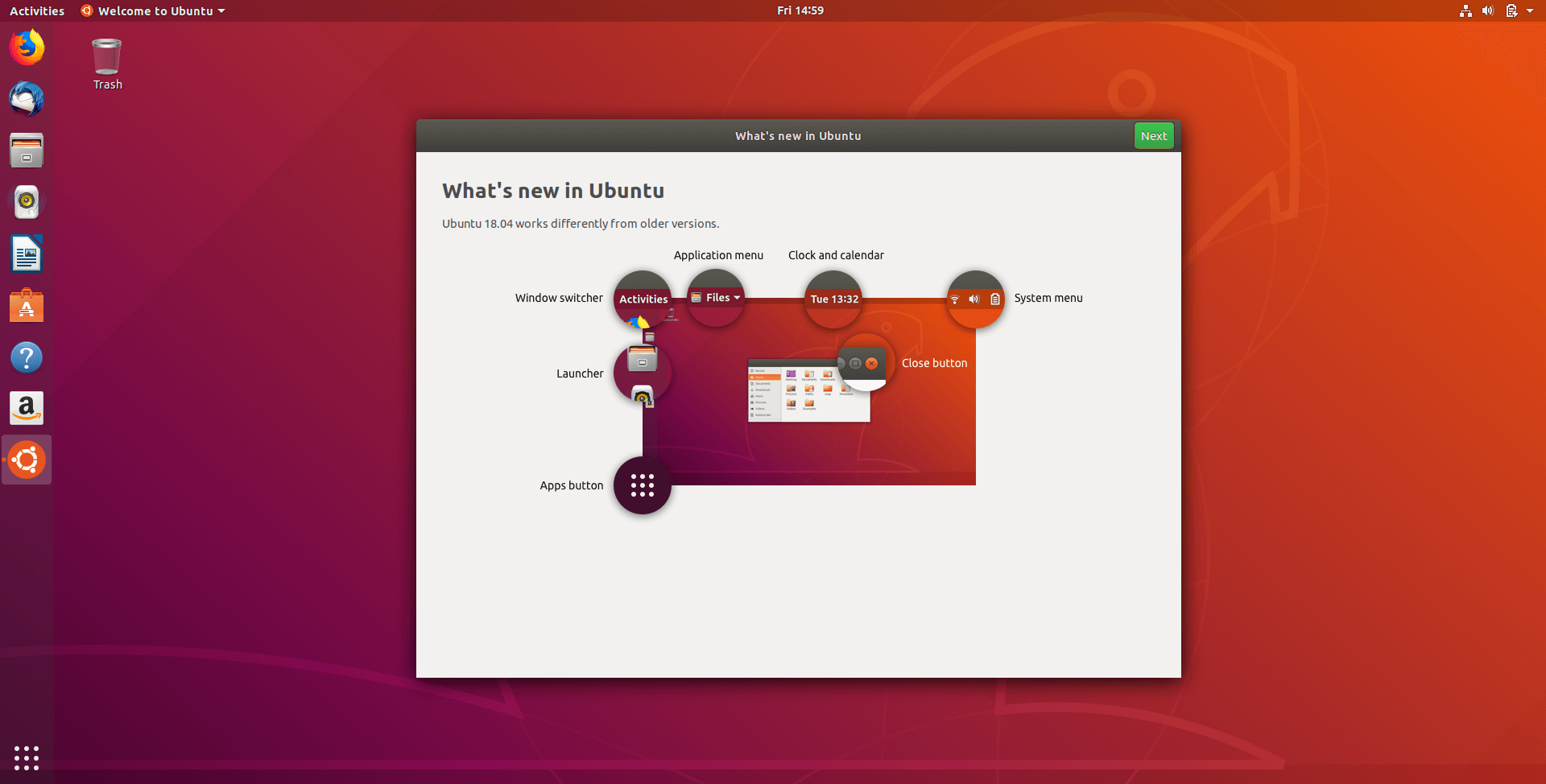 Ubuntu 18.04 New Features