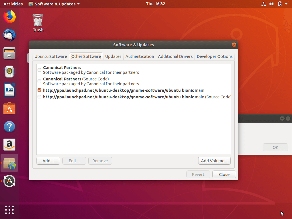Enable Ubuntu Repositories