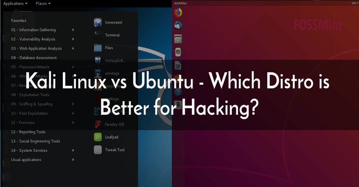 Kali Linux vs Ubuntu for Hacking