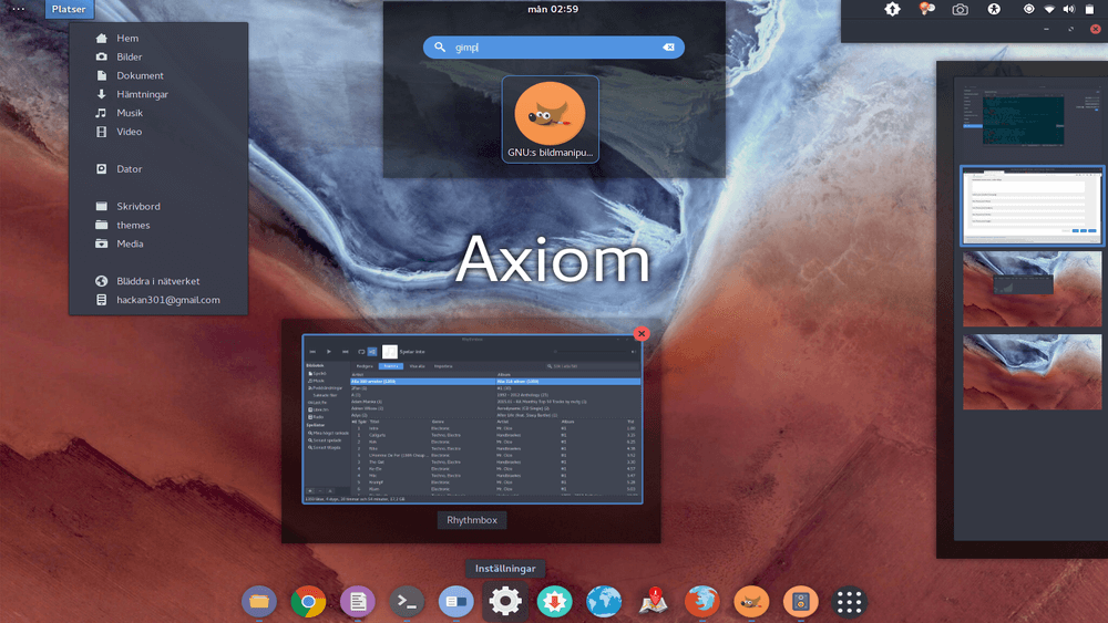 Axiom Theme for Ubuntu