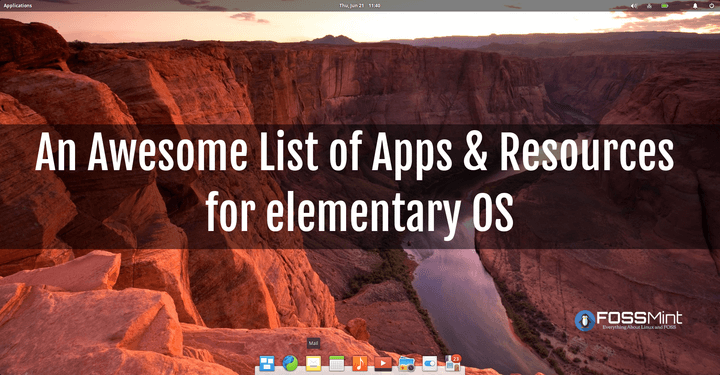 List of Apps for Elementary OS