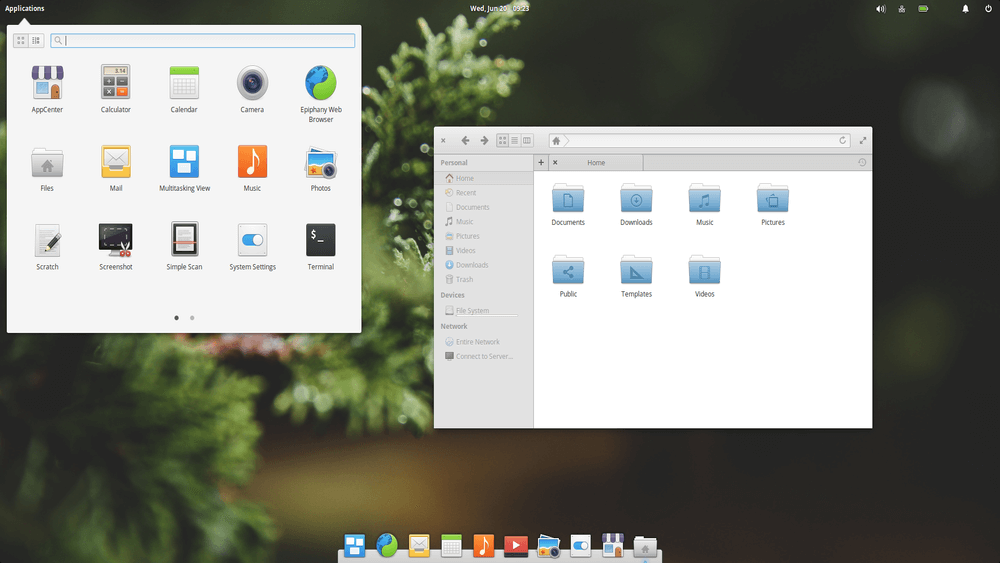 Elementary OS Look