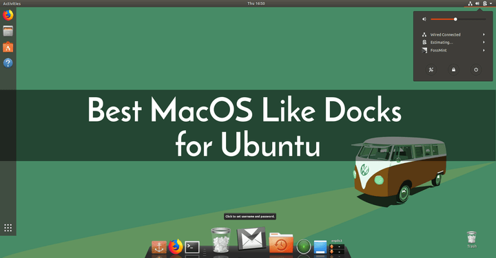 MacOS Like Docks for Ubuntu