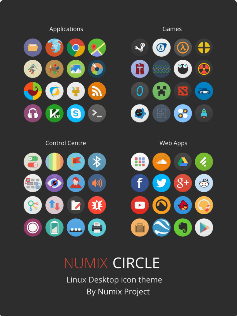 Numix Circle Icon Theme
