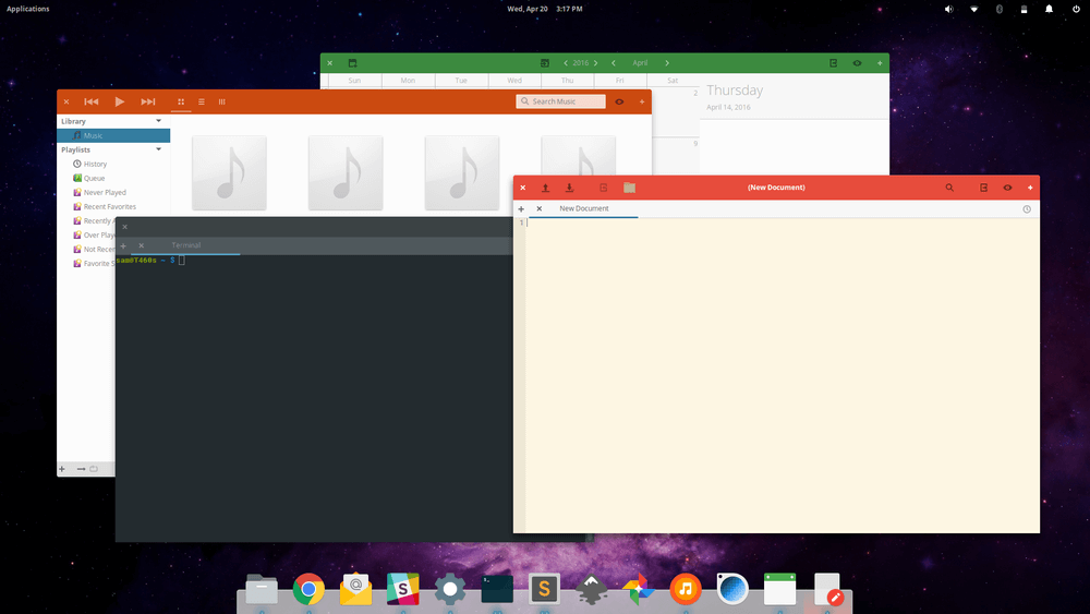 Paper Theme for Ubuntu