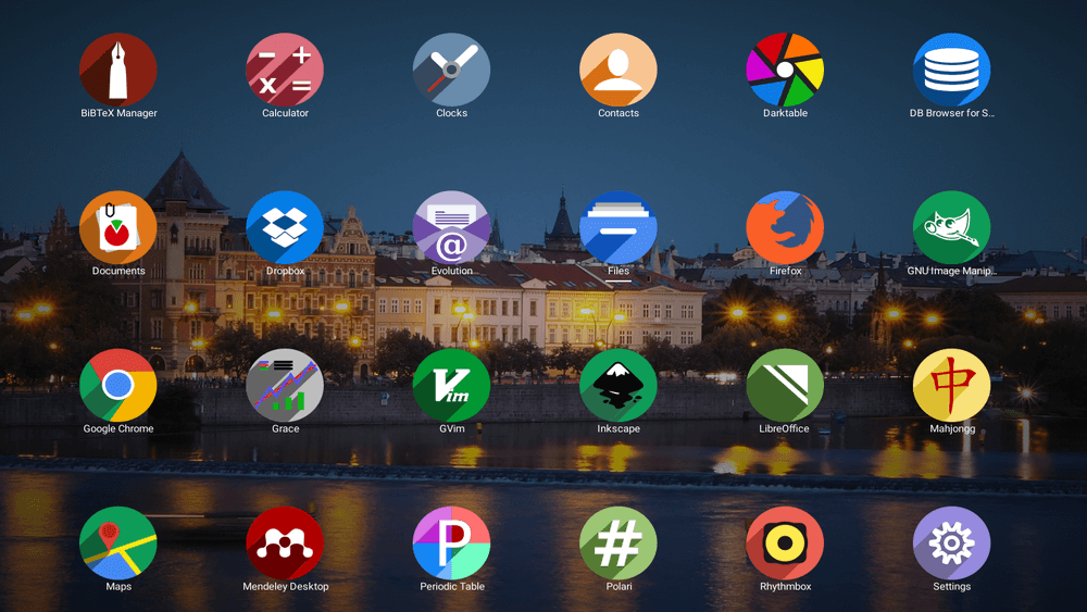 Shadow Icon Theme for Linux