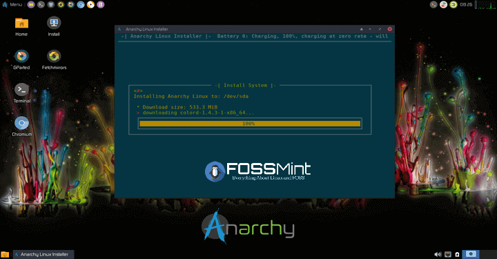 Anarchy Linux Alternative to Arch Linux
