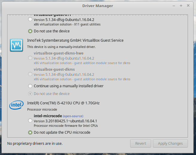Install Graphic Driver in Linux Mint