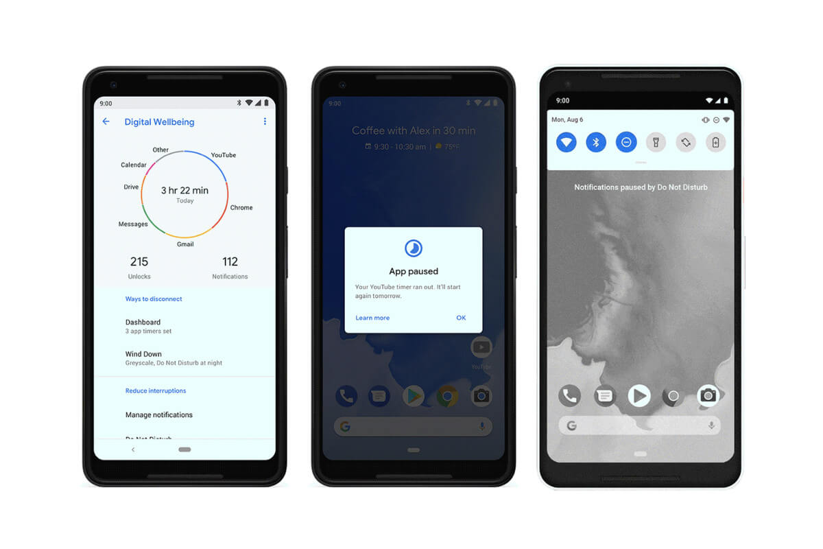 Android Pie App Timer