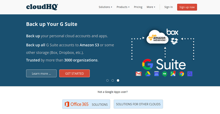 CloudHQ Gmail Backup Sync to Cloud