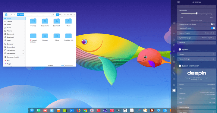 Deepin OS 15 7 - Enjoy The Better Performance
