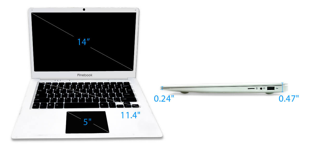 Pinebook 64 Laptop
