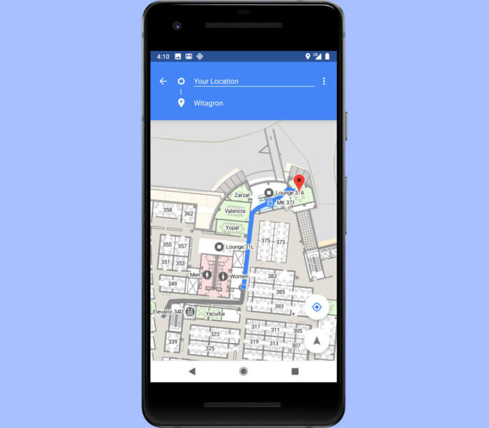 Android Pie Wifi Navigation
