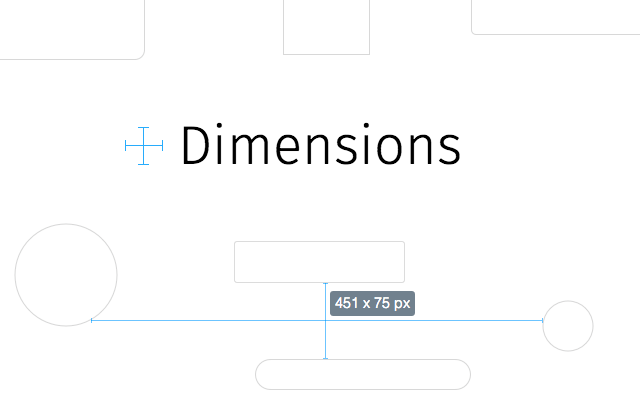 Dimensions Chrome Extension