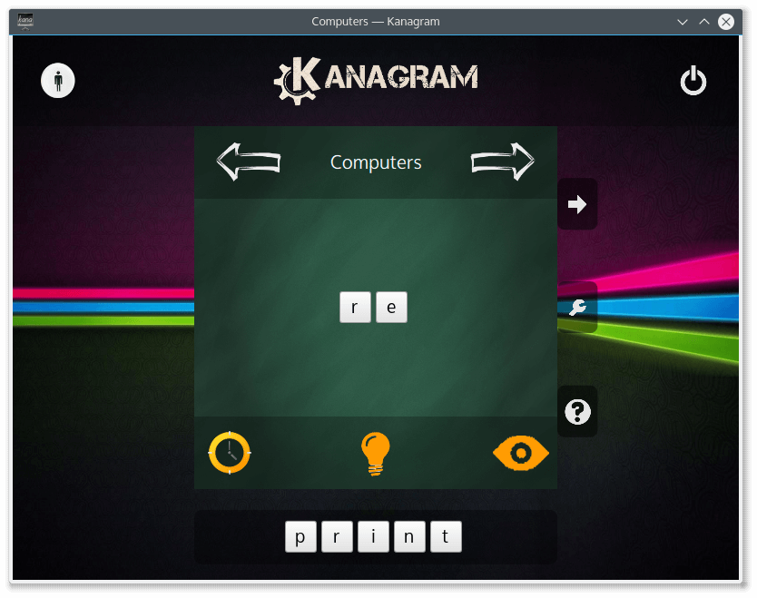 Kanagram - Letter Order Game