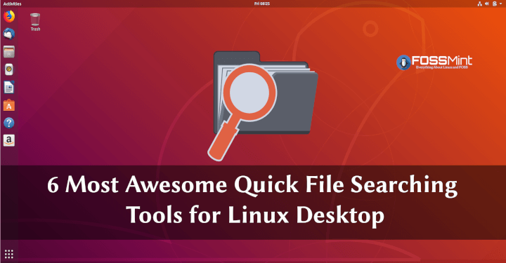 Linux File Search Tools