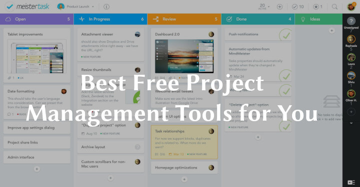 17 Best Free Project Management Tools for You