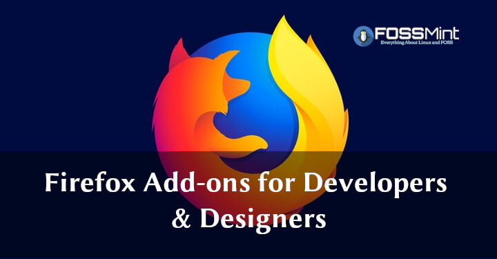 Firefox Add-ons for Developers & Designers