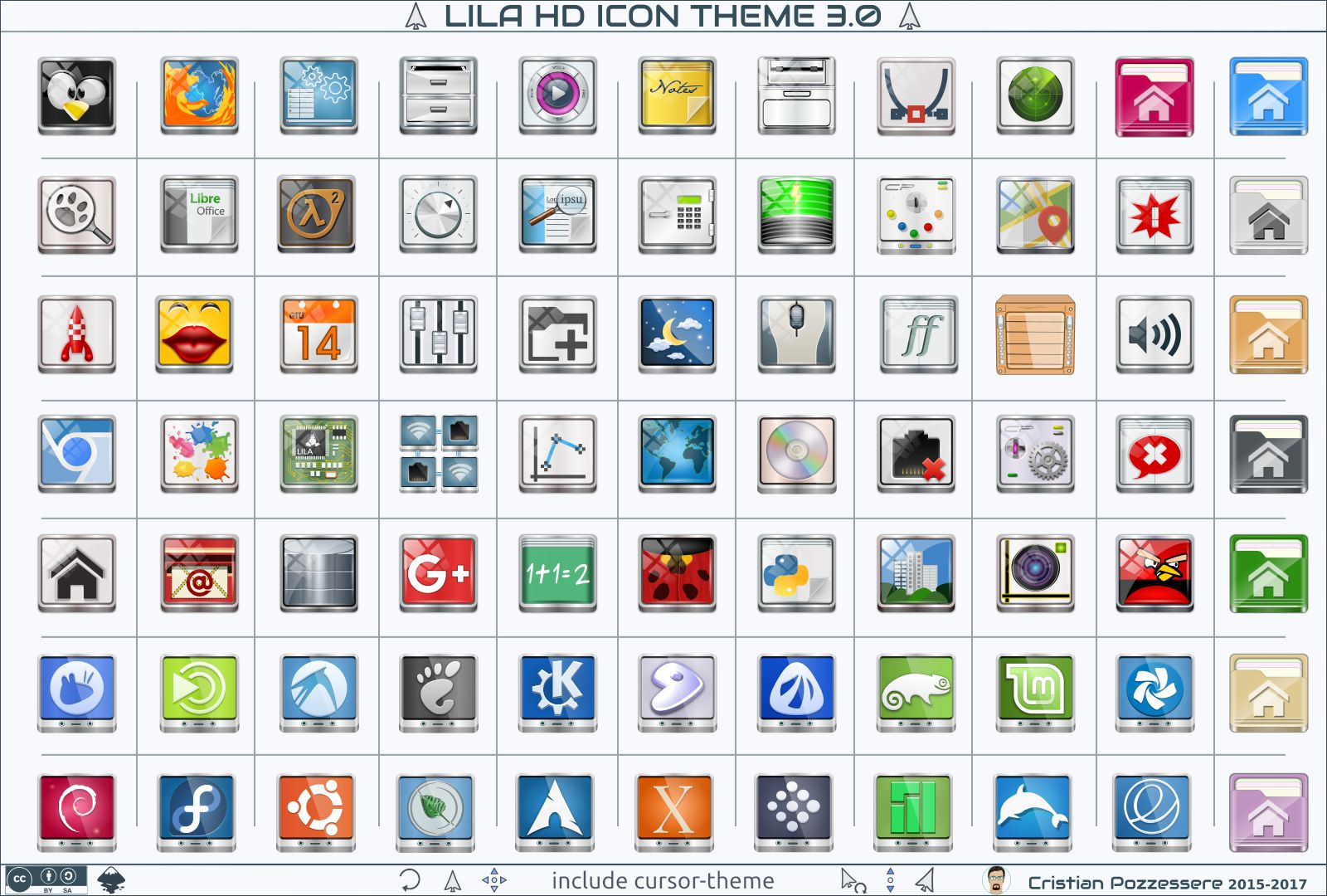 Lila HD Icon Theme