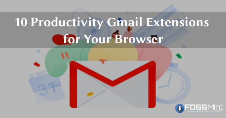 Productivity Gmail Extensions