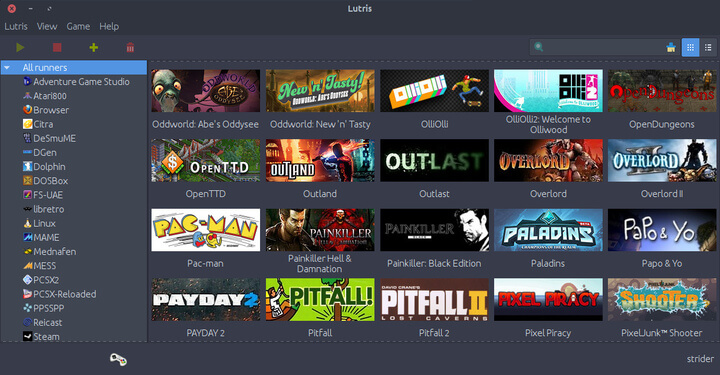 Lutris Gaming Platform for Linux