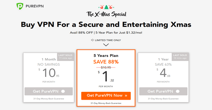 Get PureVPN 5 Year Plan