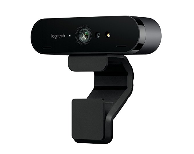 Logitech BRIO – Ultra HD Webcam for Video