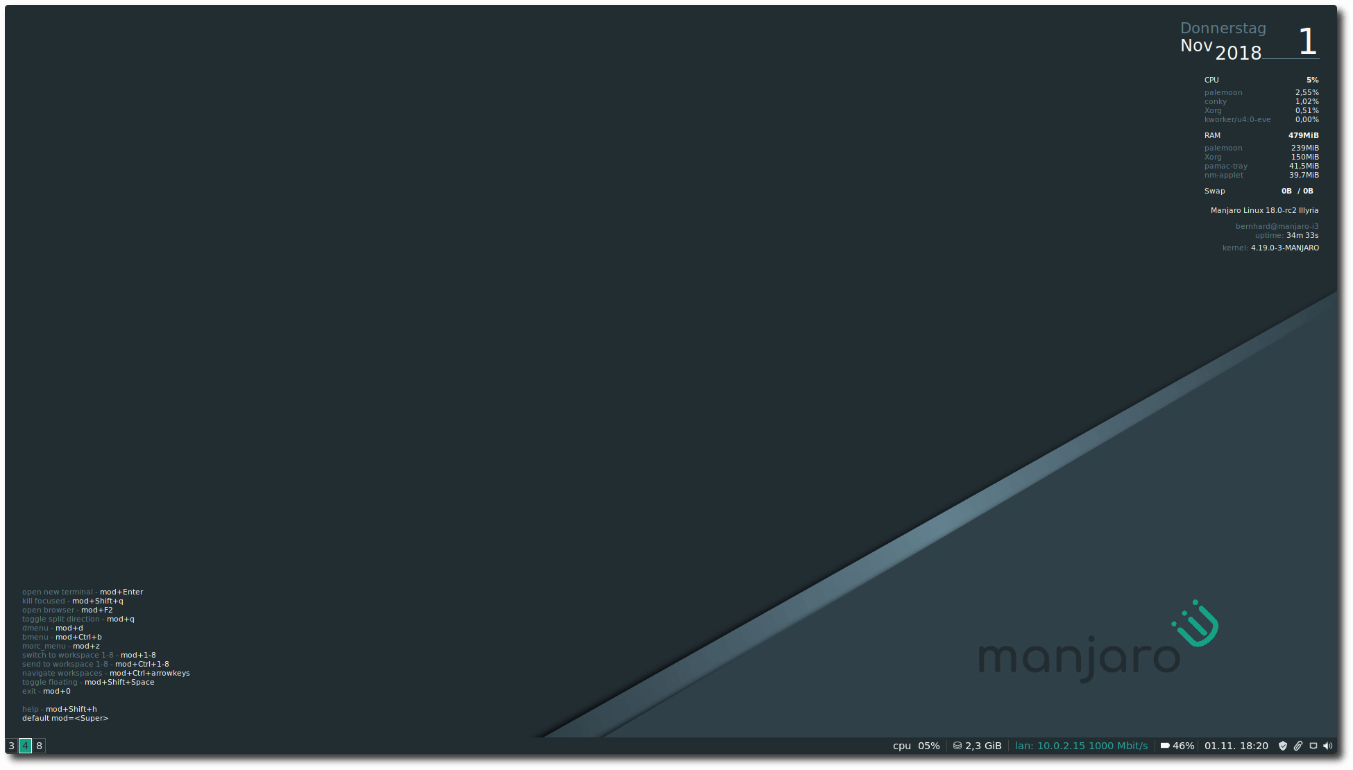 Manjaro 18 0 Released - What's New in Manjaro Illyria?