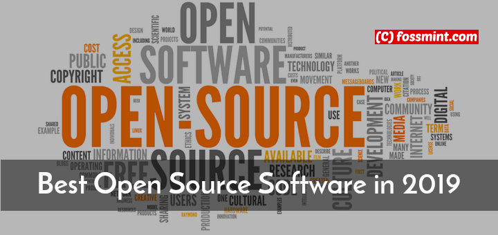 Best Open Source Software in 2019