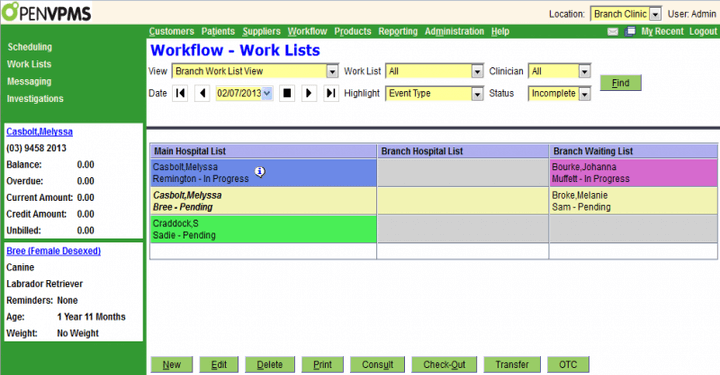 Open Source Veterinary Management Software