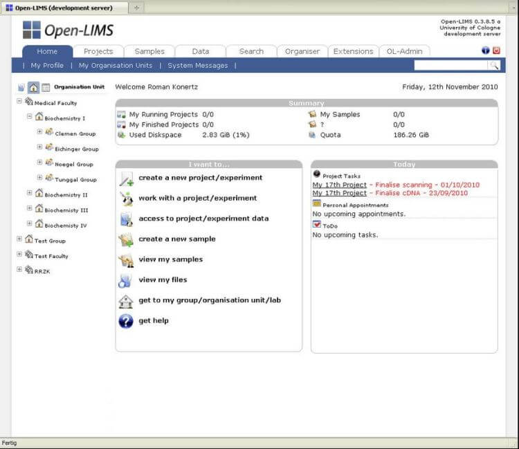Best 10 Free and Open Source Lab Management Systems