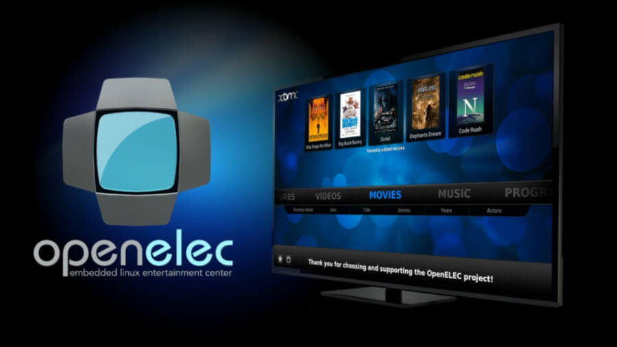 OpenELEC Mediacenter for Raspberry Pi