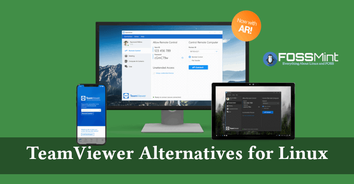 10 Best Team Viewer Alternatives For Linux In 2019