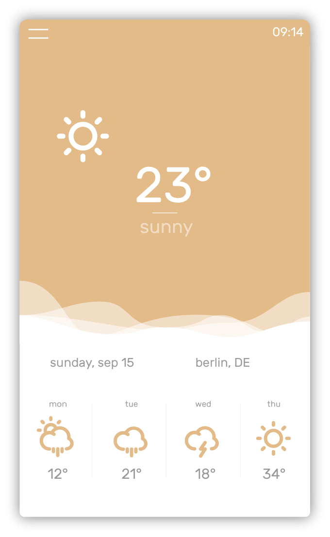 Temps Weather App
