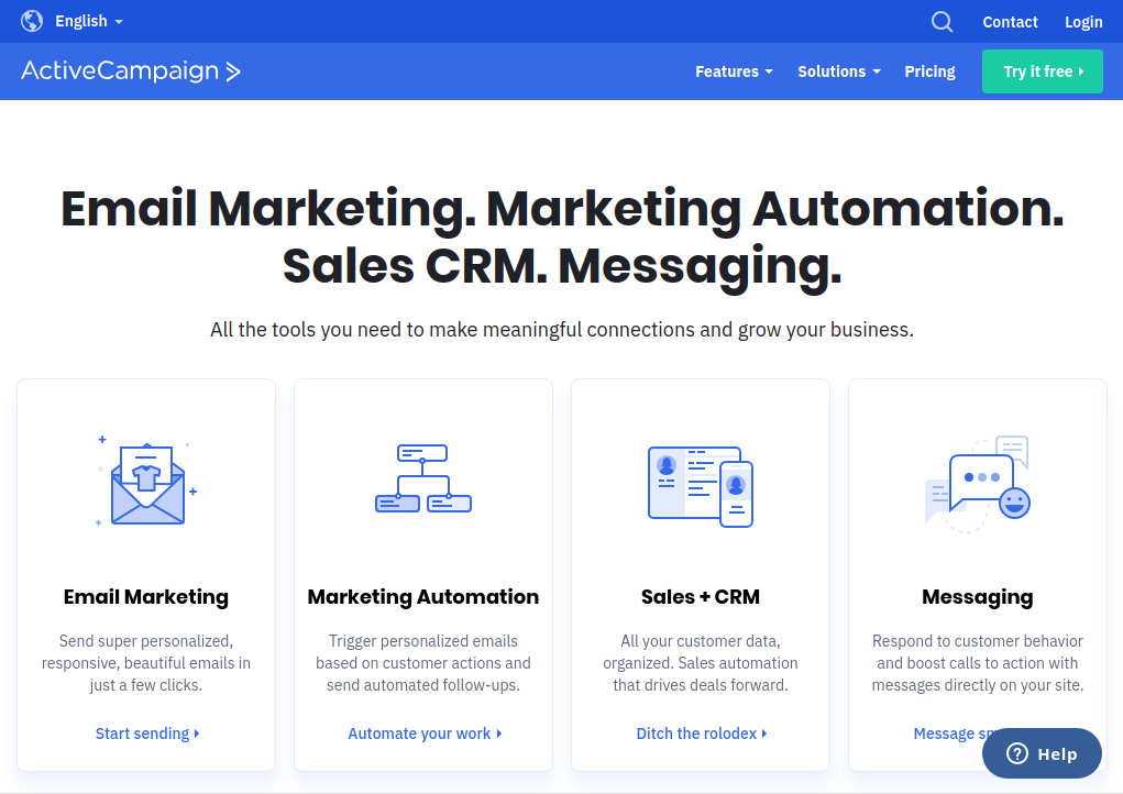 ActiveCampaign - E-Mail Marketing Software