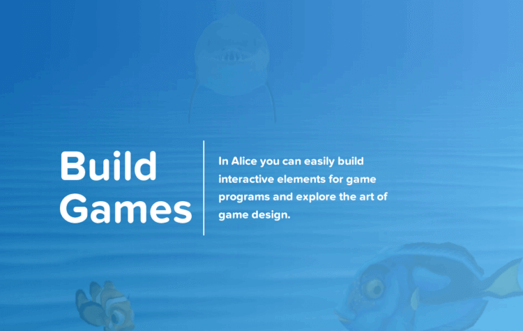 Alice - Build Games