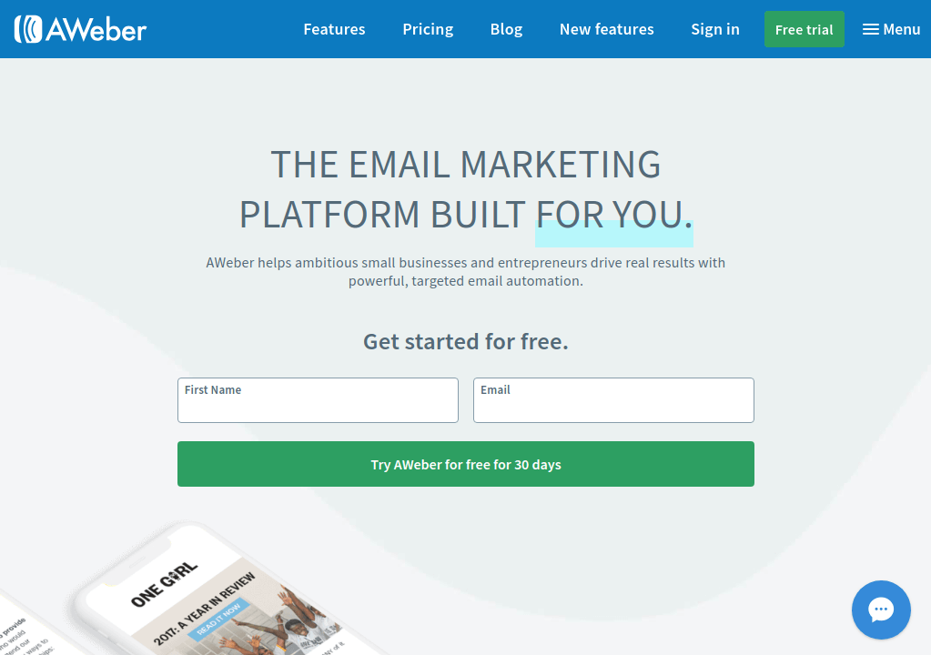 Aweber - Email Marketing Service