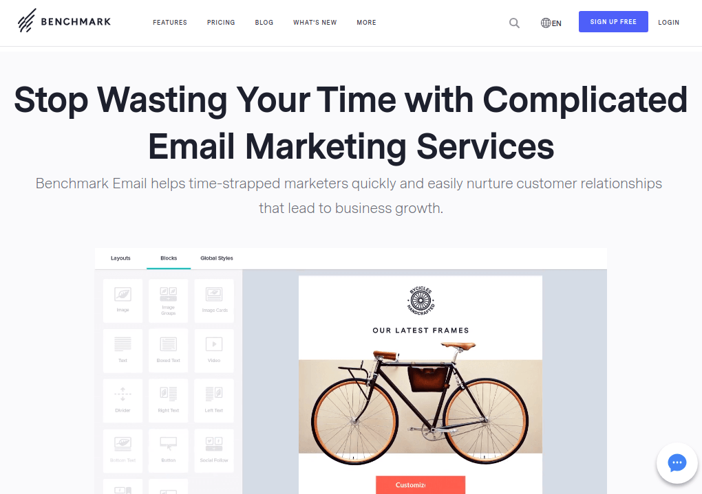 Benchmark - Email Marketing Services