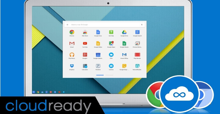 Install CloudReady Chrome OS on PC