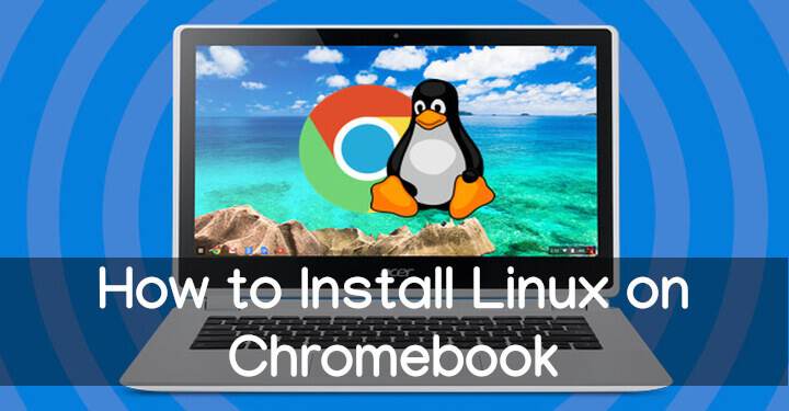 Install Linux on Chromebook