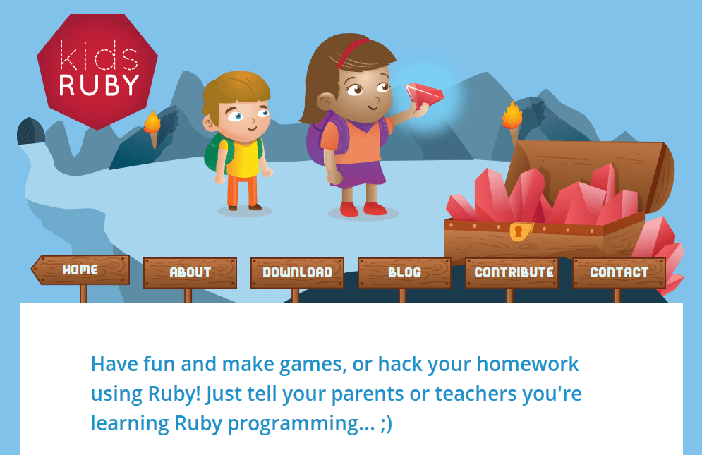 Kids Ruby - Make Games