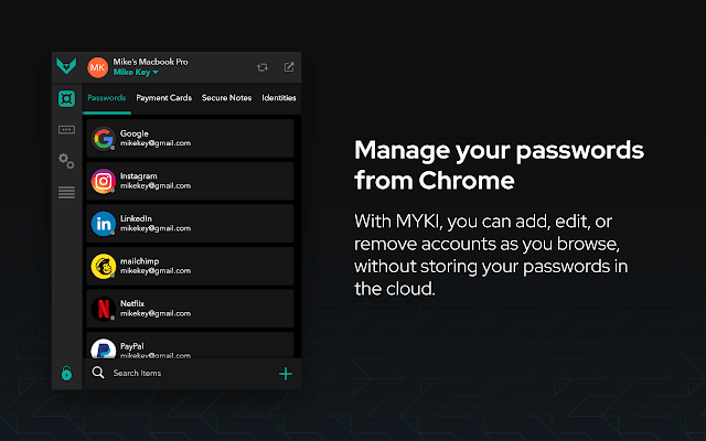 MYKI Password Manager