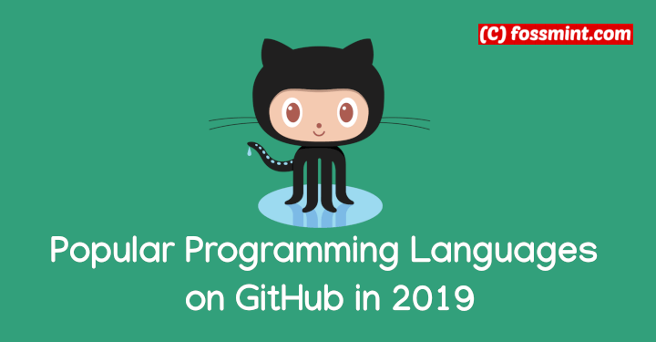 Popular Programming Languages on GitHub