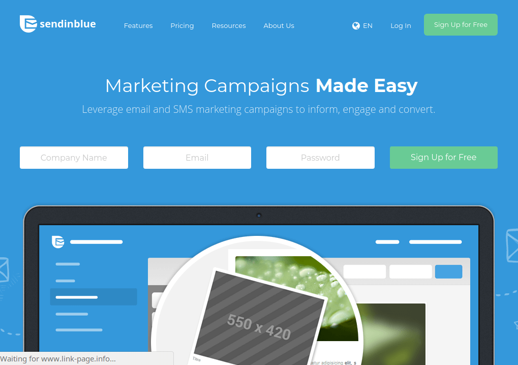 SendinBlue - Email Marketing Software
