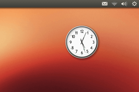 Cairo Clock for Linux