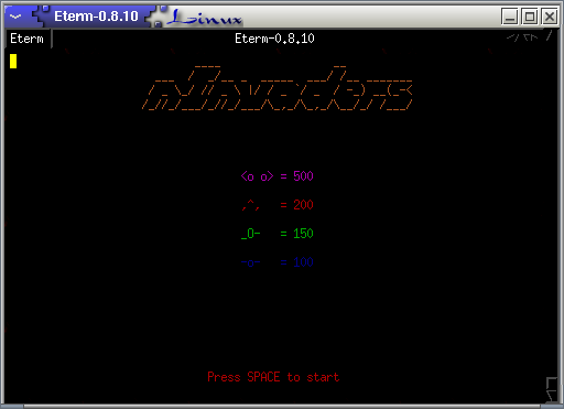 nInvaders CLI Game