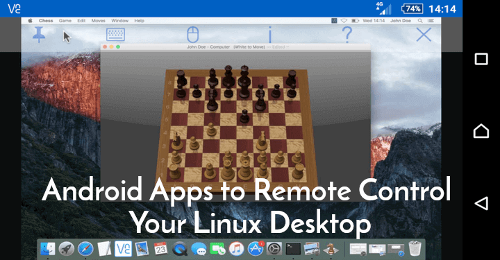 Top Android Apps to Remote Control Your Linux Desktop