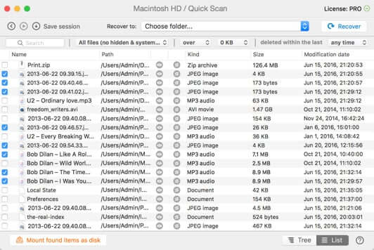 Disk - Drill Free Mac Data Recovery Software